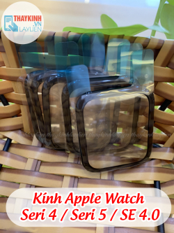 Kính Apple Watch Seri 4 / Seri 5 / SE ( S4 / S5 / SE ) 4.0 mm